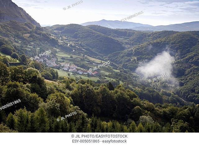 Azpiroz mountain pass, Navarre Basque Country Spain