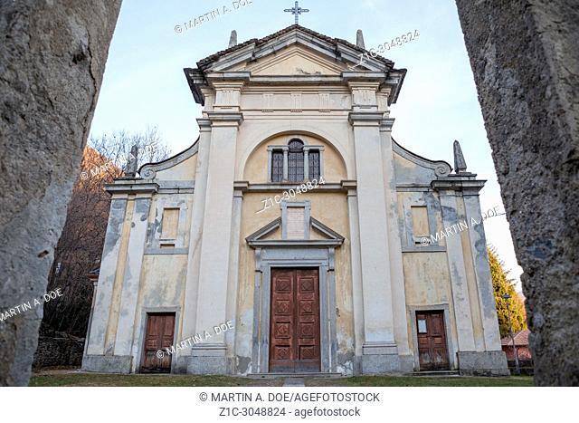 Chiesa di San Martino (Saint Martin Church). Campagnano, Italy