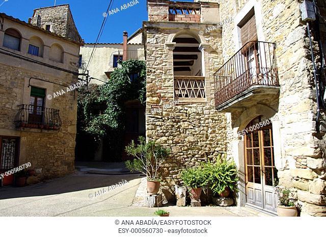 Centro medieval de Palau-Sator, Baix Emporda, Girona