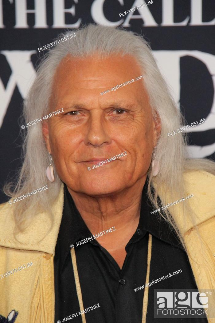 "Stock Photo: Michael Horse at """"The Call Of The Wild"""" World Premiere held at El Capitan Theatre in Los Angeles, CA, February 13, 2020."