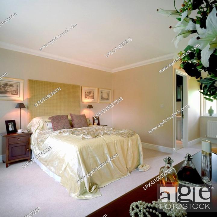 Stock Photo: Double Bedroom.