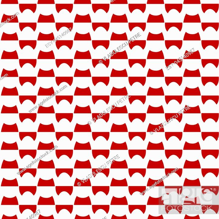 Stock Vector: pattern with semi painted eggs (in width).