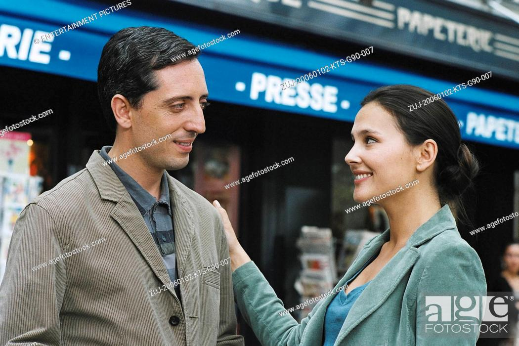 Stock Photo: RELEASE DATE: March 12, 2007. MOVIE TITLE: La Doublure. STUDIO: Gaumont. PLOT: A porter and a top-model have to pretend to be a couple in order to salvage a.