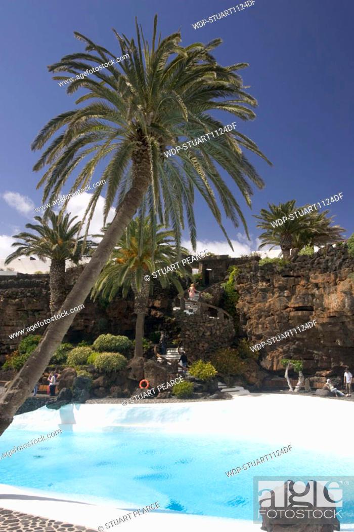 Stock Photo: Jameos del Agua, Lanzarote, Canary Islands.
