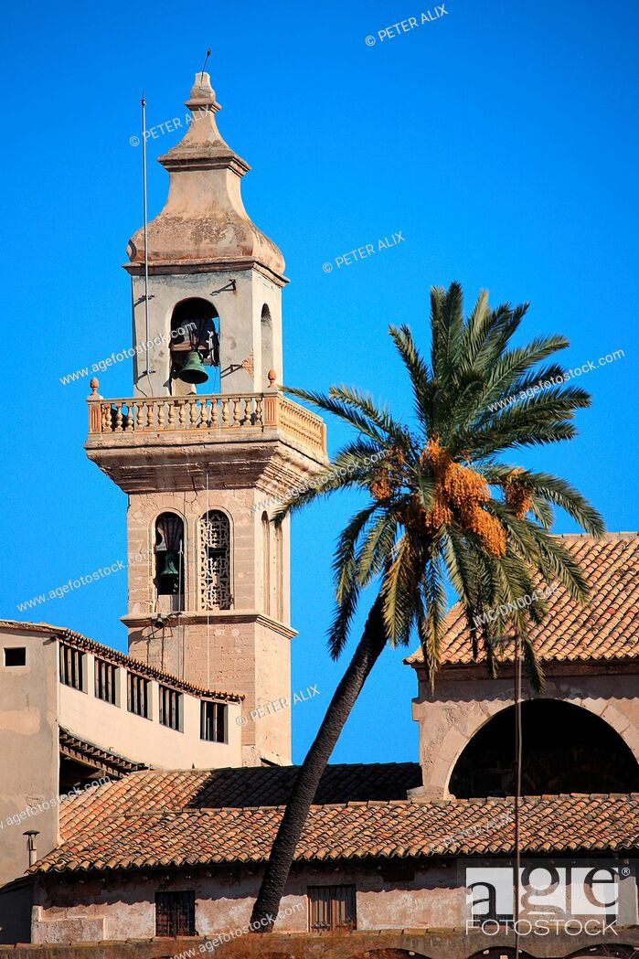 Stock Photo: Spain, Balearic islands, Majorca, Palma de Majorque.