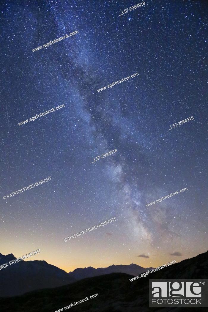 Stock Photo: Gaerstenhoerner - 3189 m, Switzerland.