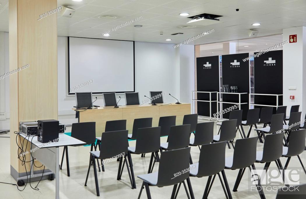 Imagen: Assembly Hall, Ficoba, Irun, Gipuzkoa, Basque Country, Spain, Europe.