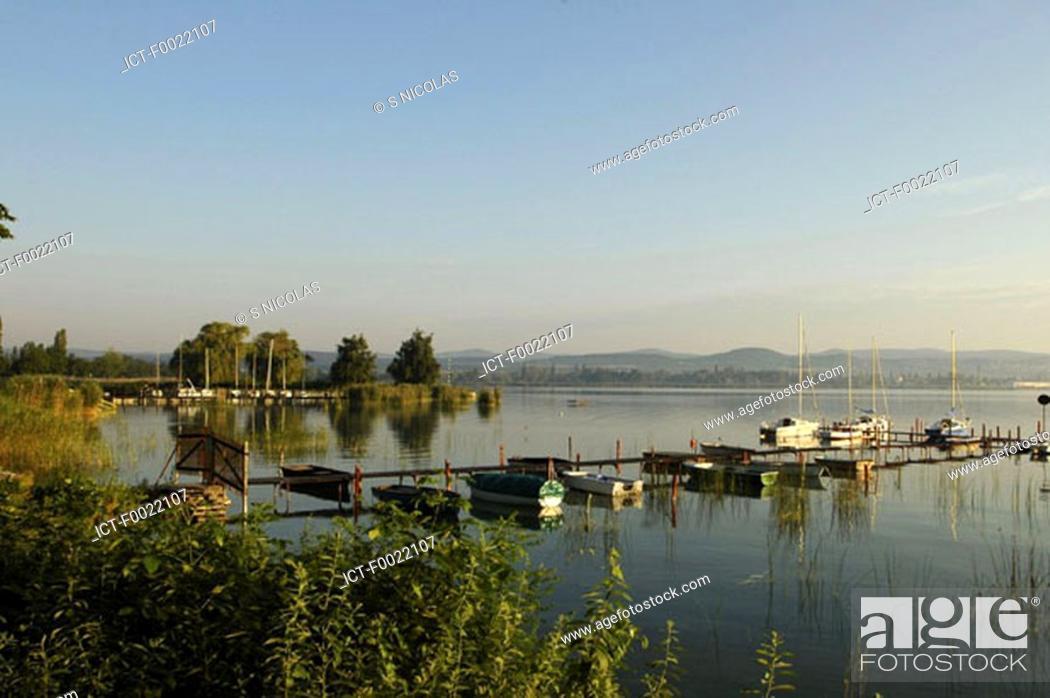 Stock Photo: Hungary, Lake Balaton.
