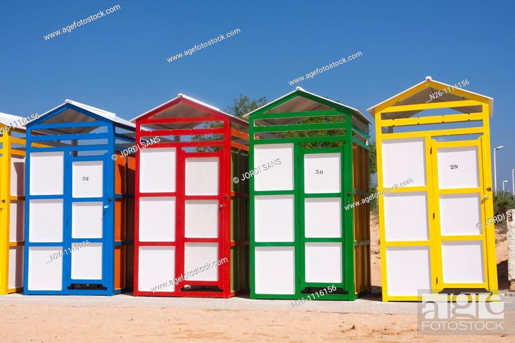 Stock Photo: S'Agaró Beach Spain, Catalunya, province of Girona, Baix Emporda, Castell-Platja d'Aro.