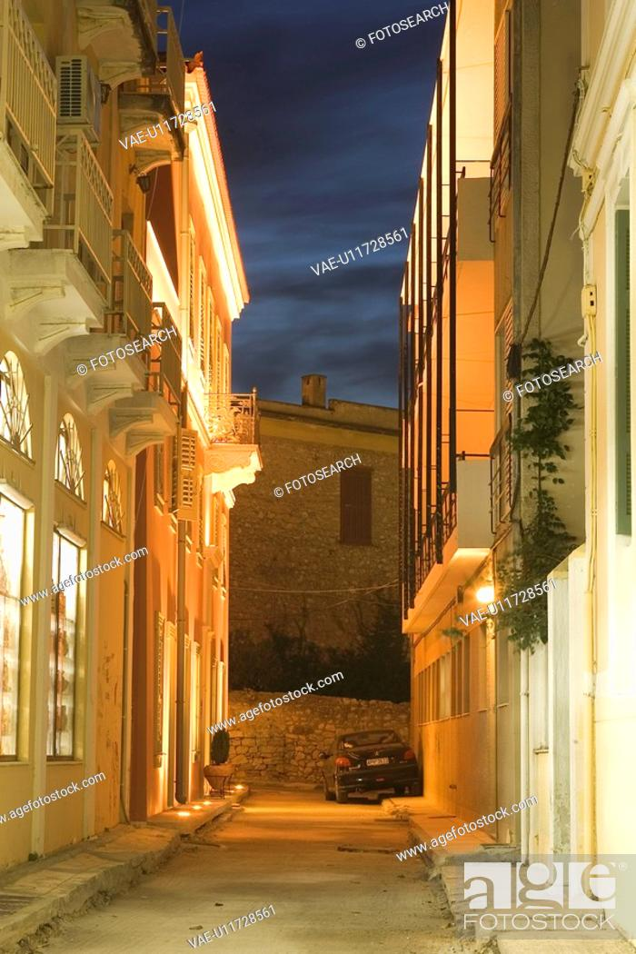 Stock Photo: Balcony, Cloud, Building Structure, Building Exterior, Alley.