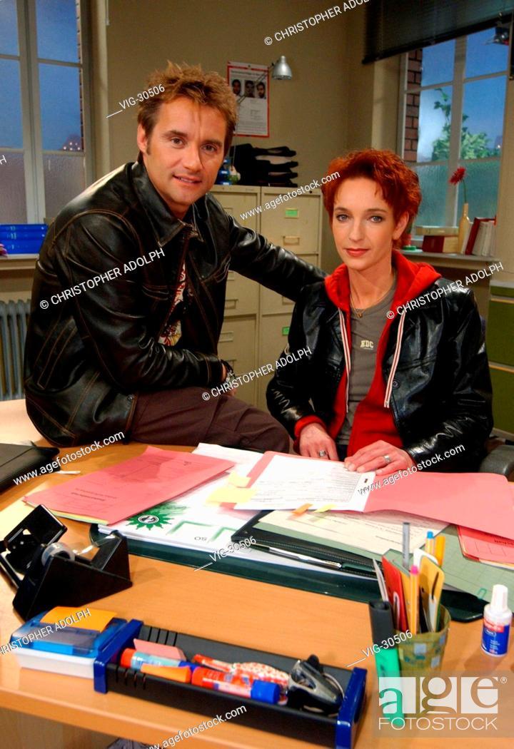 Bernhard KUHNT, detective superintendent, and Cornelia