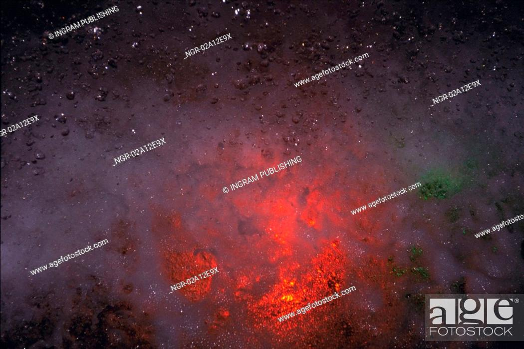 Stock Photo: Close-up of stars in space.