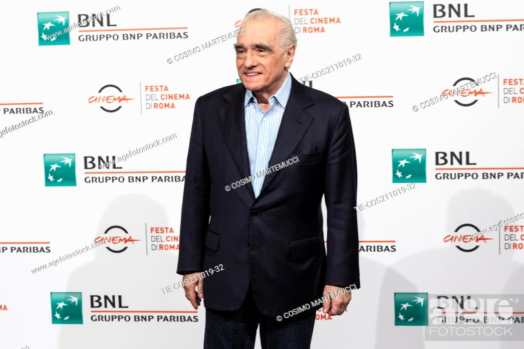 Imagen: Martin Scorsese during 'The Irishman' film photocall at 14th Rome Film Fest, Rome, Italy 21/10/2019.