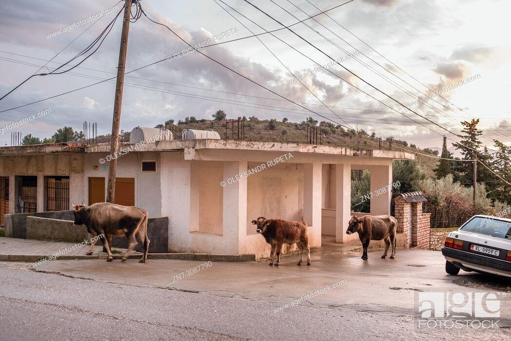 Stock Photo: Saranda, Ionian Sea, Albania.