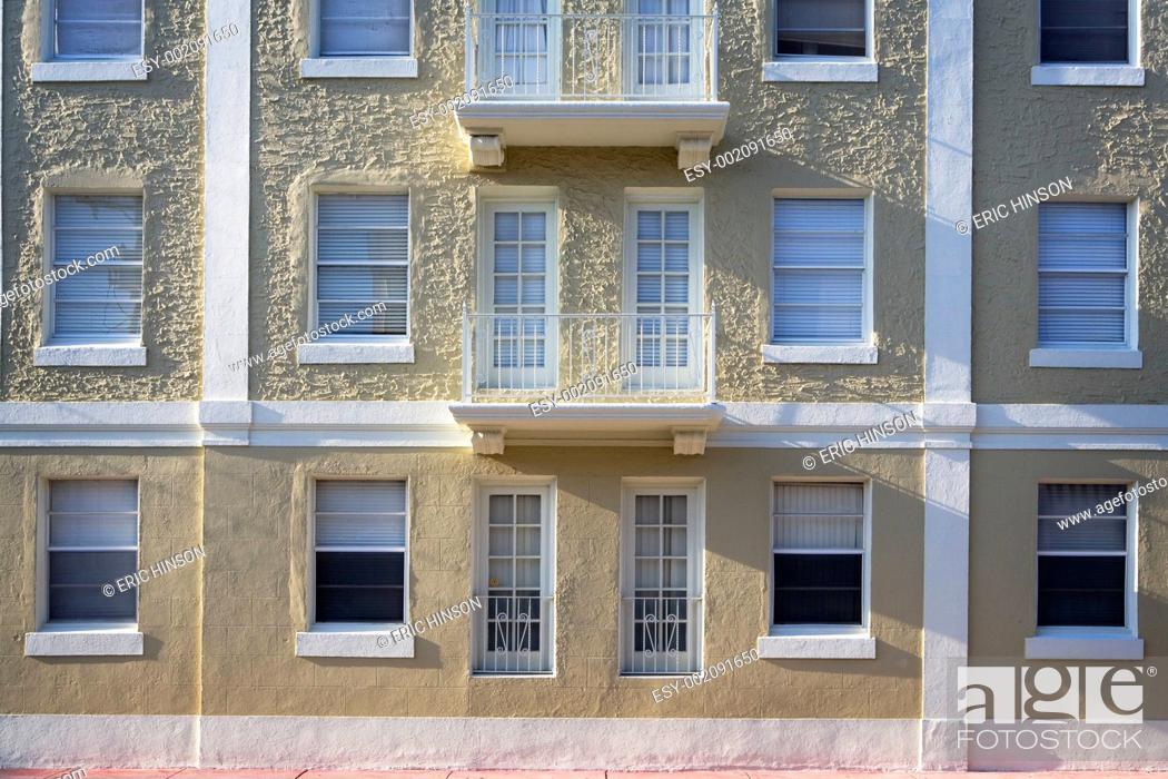 Stock Photo: Miami Art-Deco.