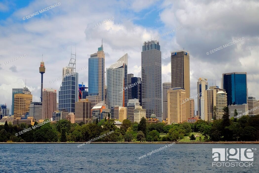 Stock Photo: Sydney Australia Skyline New South Wales AU.