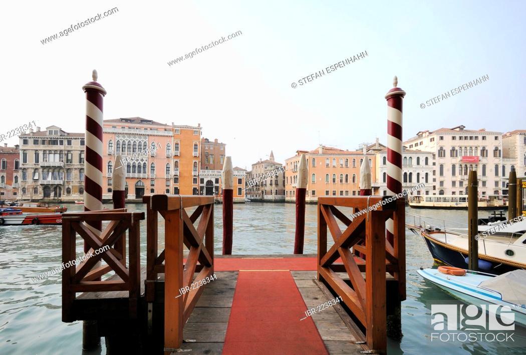 View From A Jetty Dock Of Palazzo Pisani Moretta Palazzo
