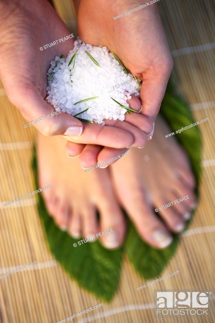 Stock Photo: Bath salts.
