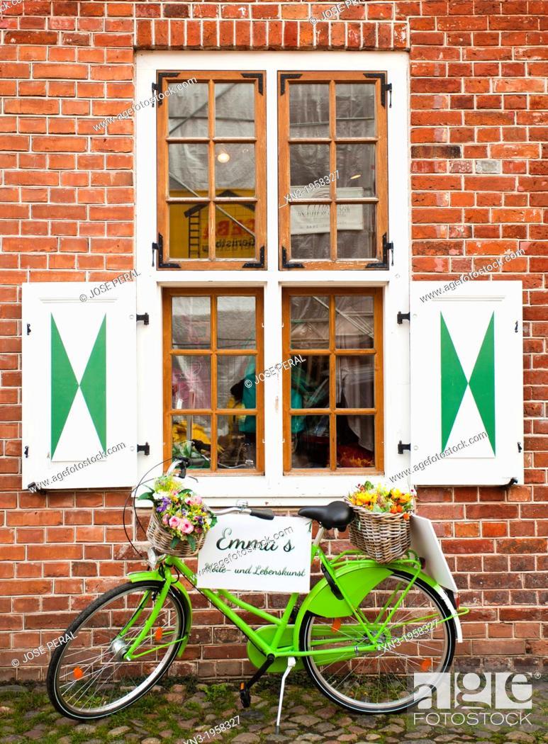 Stock Photo: Dutch Quarter, Potsdam, Brandenburg, Germany, Europe.