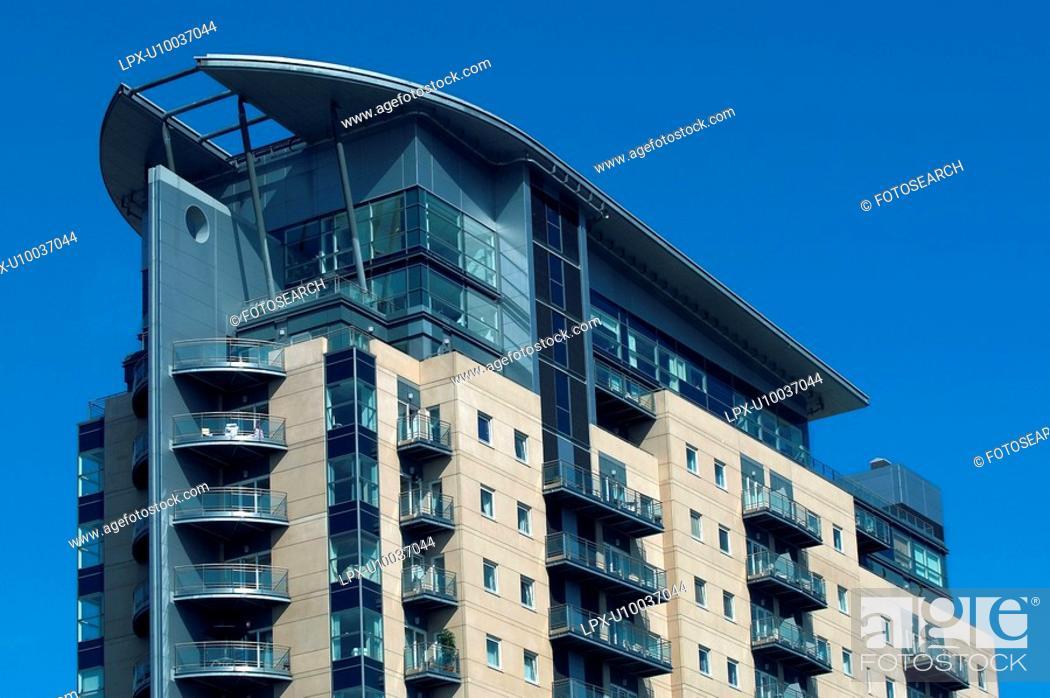 Stock Photo: Apartment Buildings.
