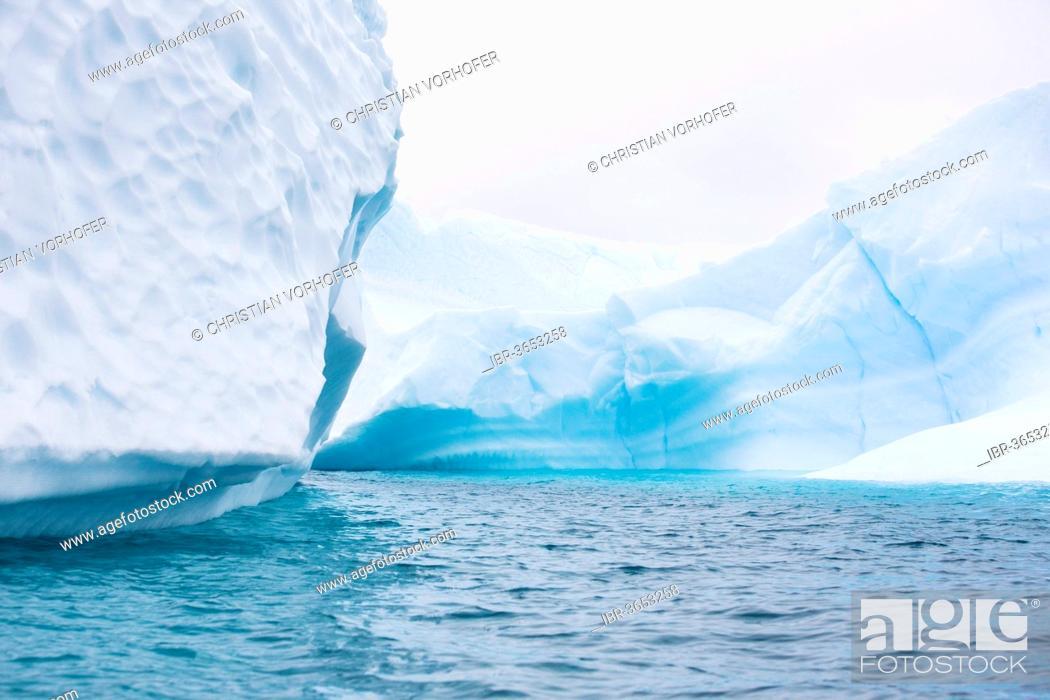 Imagen: Iceberg in the Southern Ocean, Antarctic Peninsula, Antarctica.