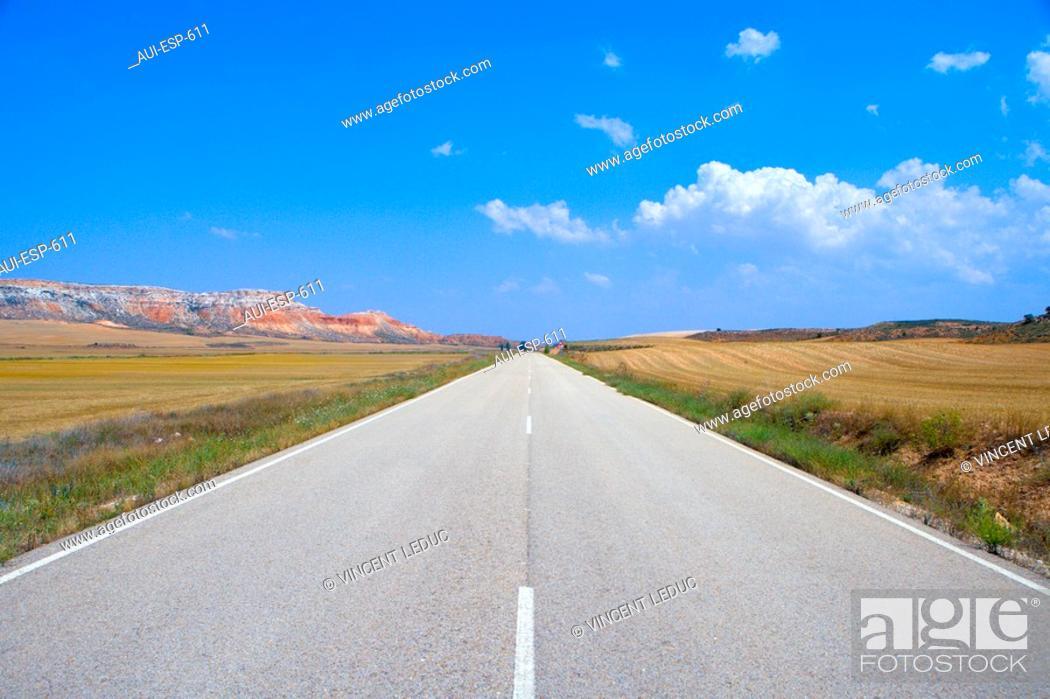Stock Photo: Spain - Castile and Leon - Province of Soria.
