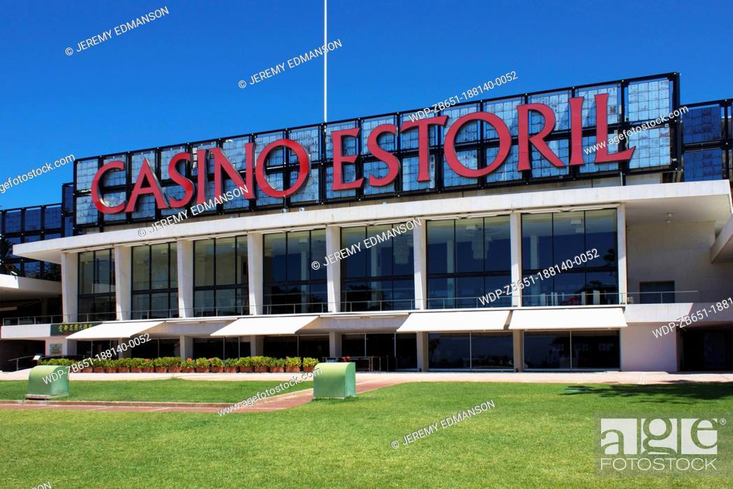 Stock Photo: Casino, Estoril, Portugal.
