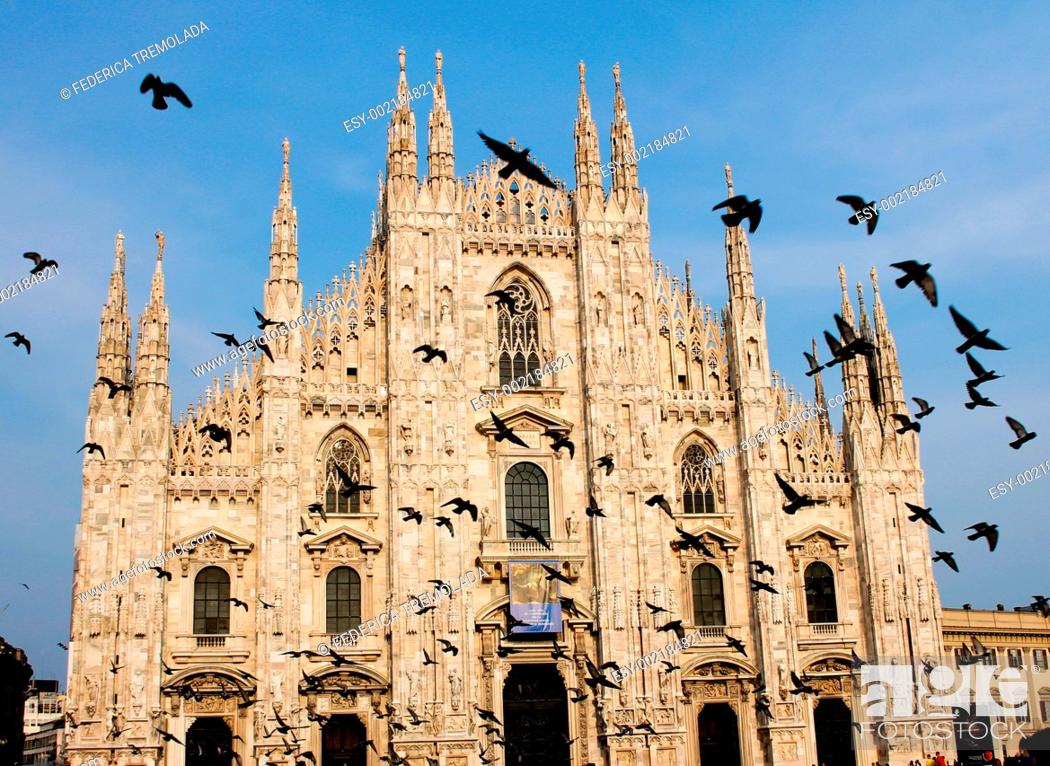Stock Photo: Milan's Cathedral.