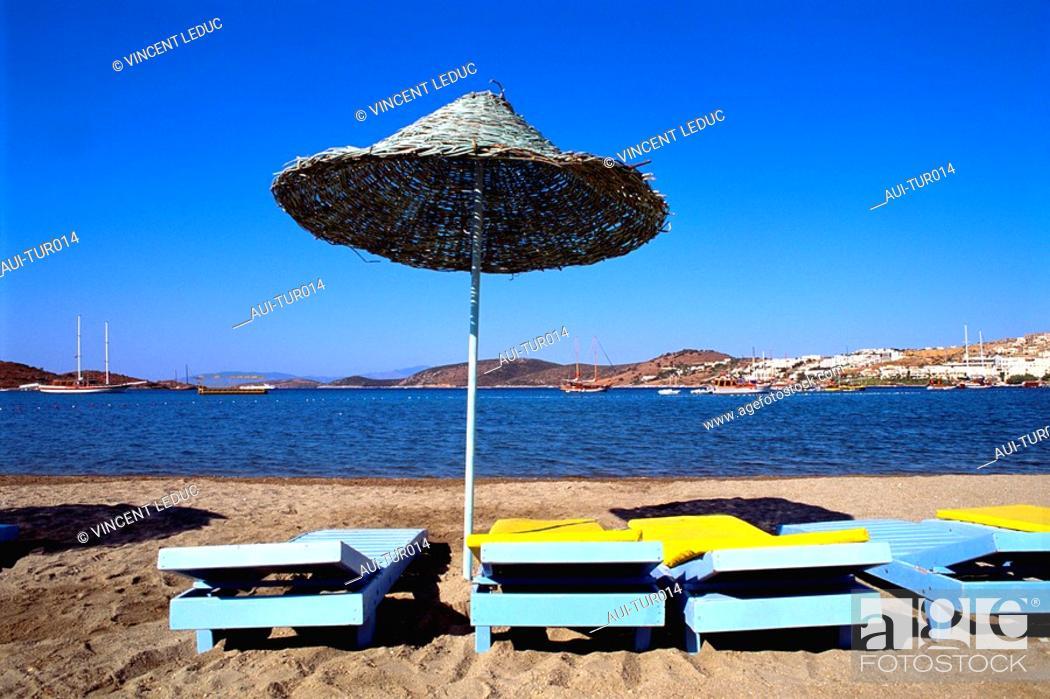 Stock Photo: Turkey - Mediterranean Coast - Izmir Region - Kusadasi -.