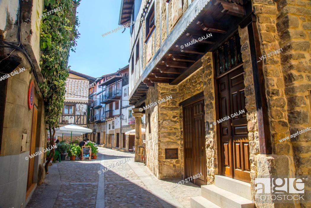 Imagen: Street. Mogarraz, Sierra de Francia Nature Reserve, Salamanca province, Castilla Leon, Spain.