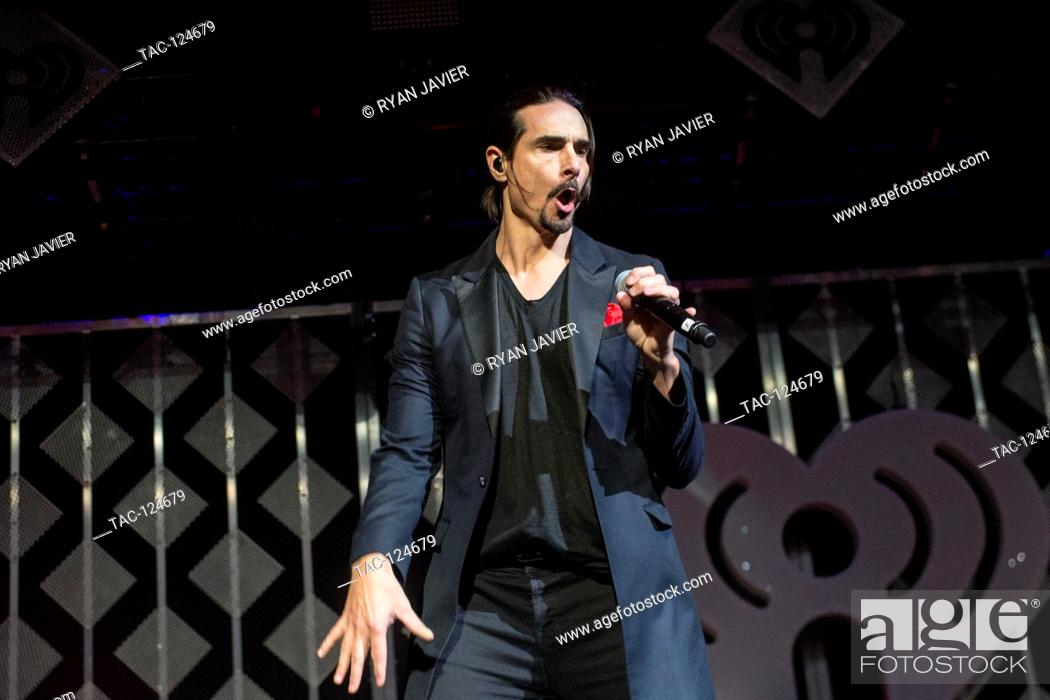 Stock Photo: The Backstreet Boys, performing at the 2016 Jingle Ball in Dallas, TX.