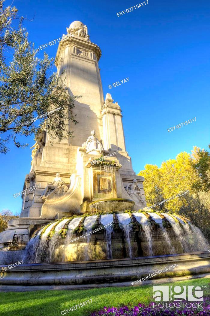 Stock Photo: Madrid city - shots of Spain - Travel Europe - November.