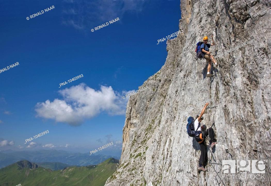 Klettersteig Switzerland : Climbing the sulzfluh klettersteig via ferrata swiss ratikon
