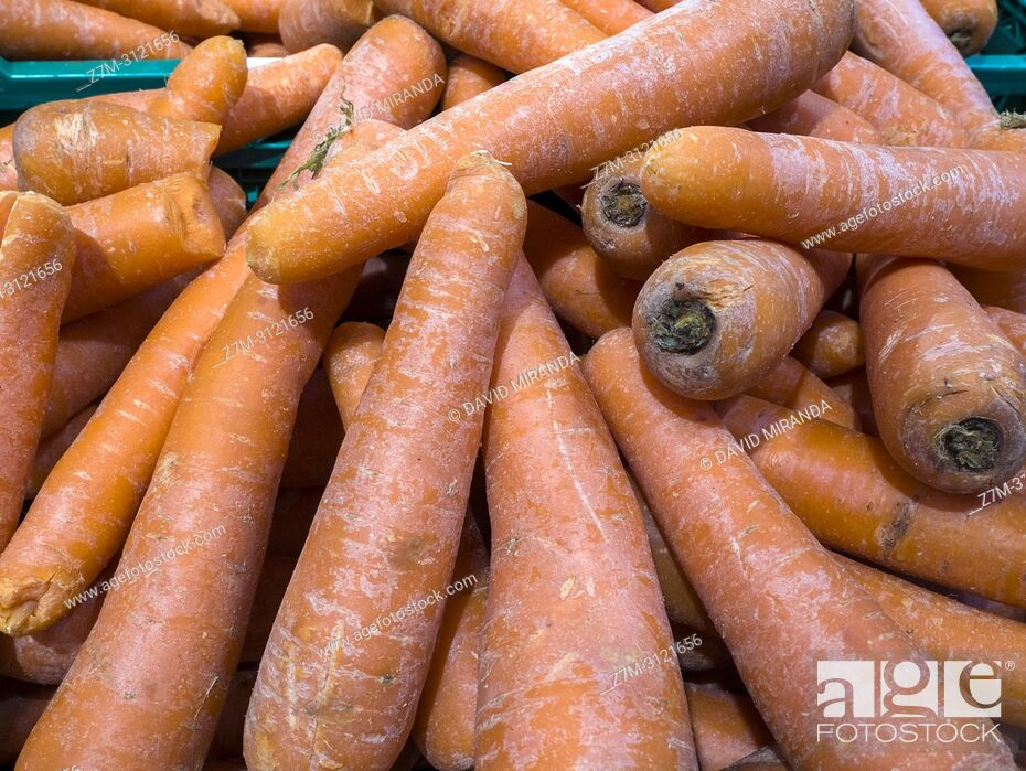 Stock Photo: Carrot. Market.