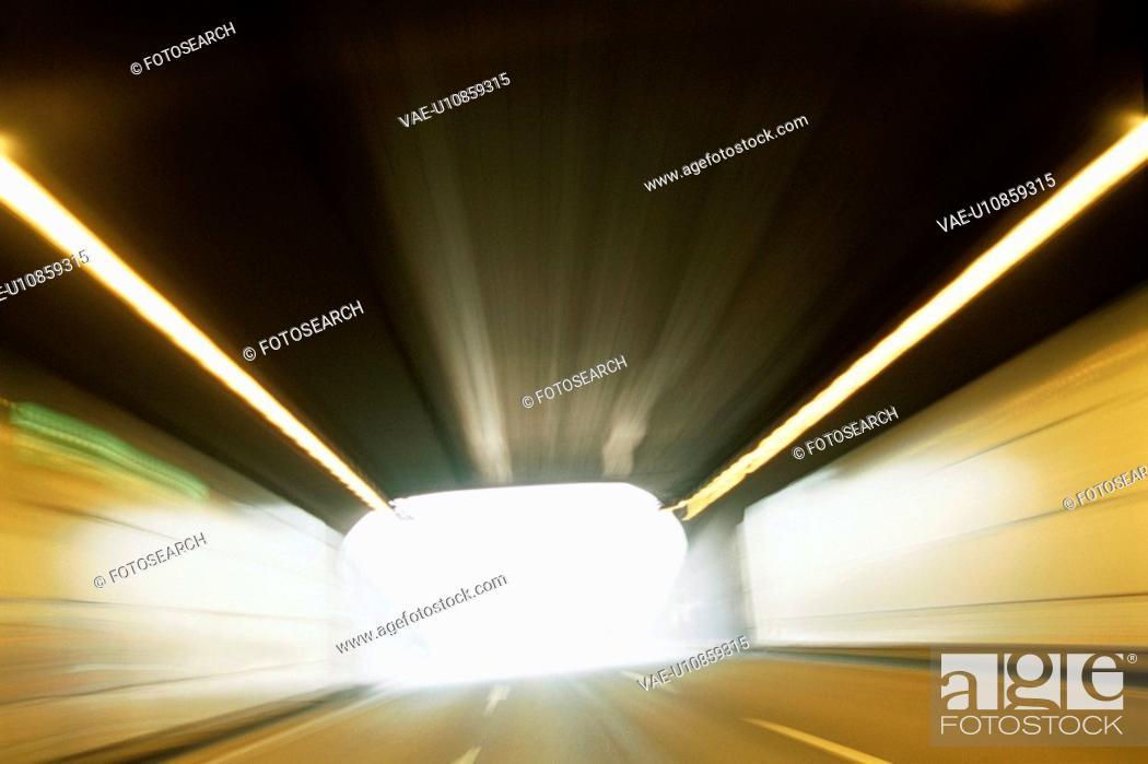 Stock Photo: Tunnel.