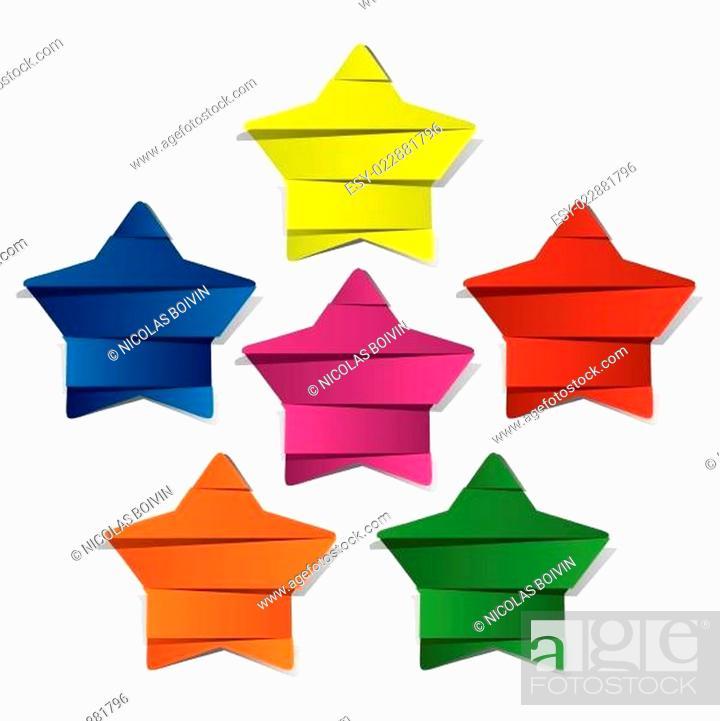 Stock Vector: Stars Background.