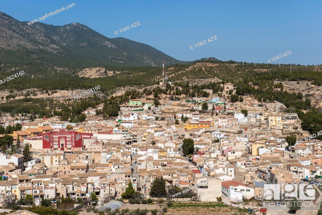 Stock Photo: Spain, Murcia region, Caravaca de la Cruz, landscape.