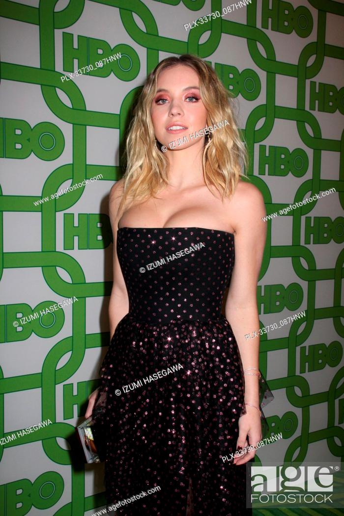 Imagen: Sydney Sweeney 01/06/2019 The 76th Annual Golden Globe Awards HBO After Party held at the Circa 55 Restaurant at The Beverly Hilton in Beverly Hills.