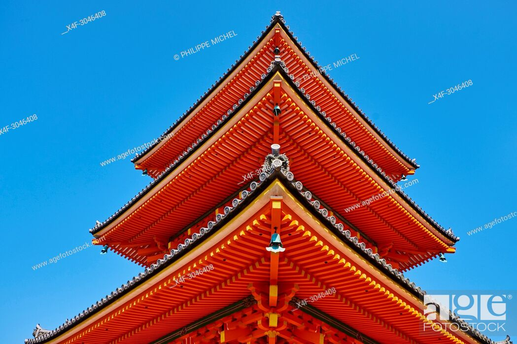 Imagen: Japan, Honshu island, Kansai region, Kyoto, Kiyomizu-dera temple, UNESCO World Heritage Site.