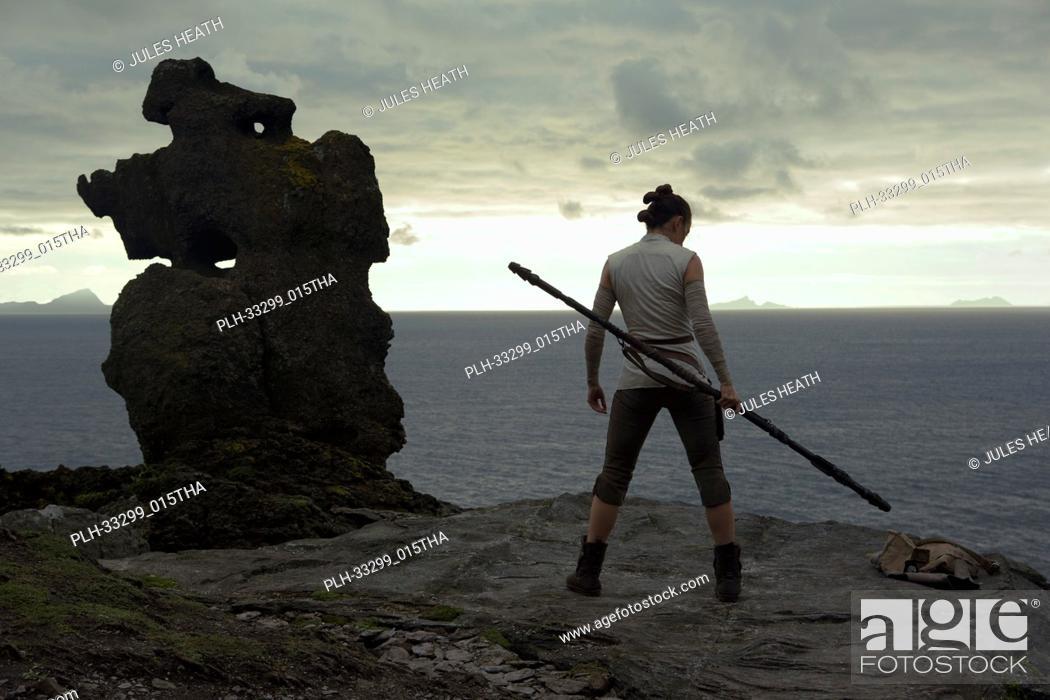 "Stock Photo: Rey (Daisy Ridley)""""Star Wars: The Last Jedi"""" (2017) Lucasfilm Ltd."