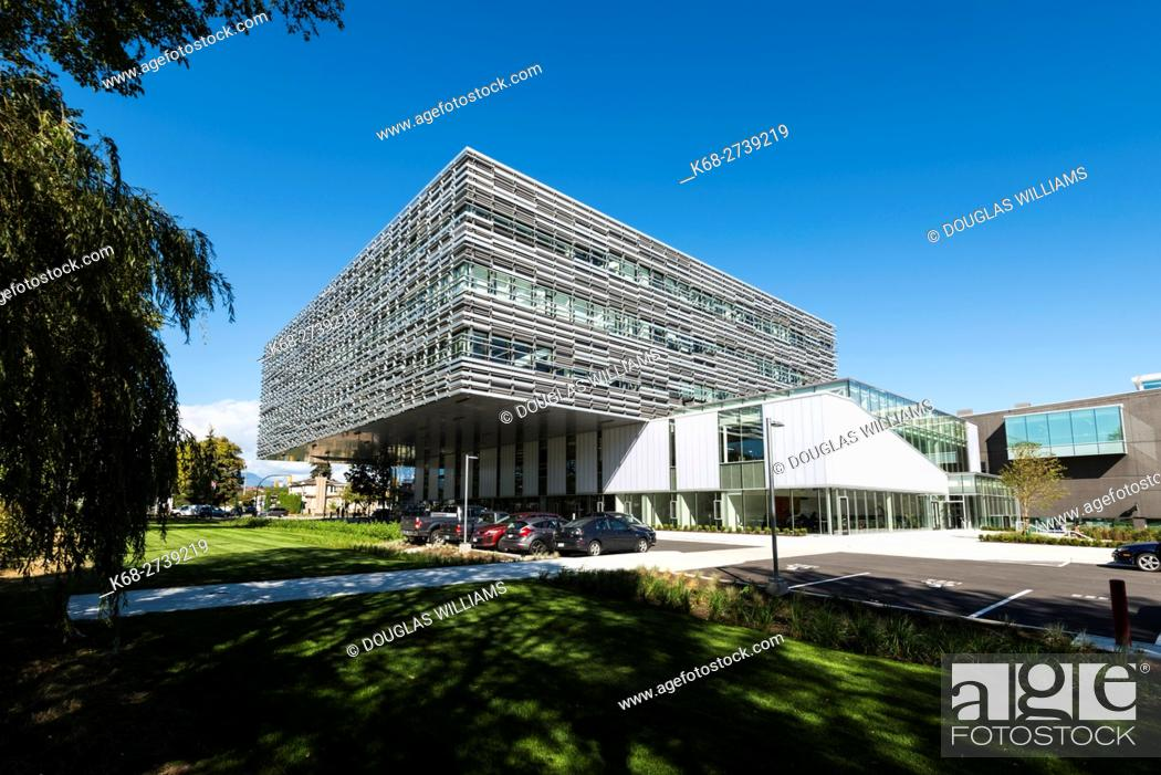 The New Science And Technology Building Langara College Vancouver Bc Canada Stock Photo Picture And Rights Managed Image Pic K68 2739219 Agefotostock
