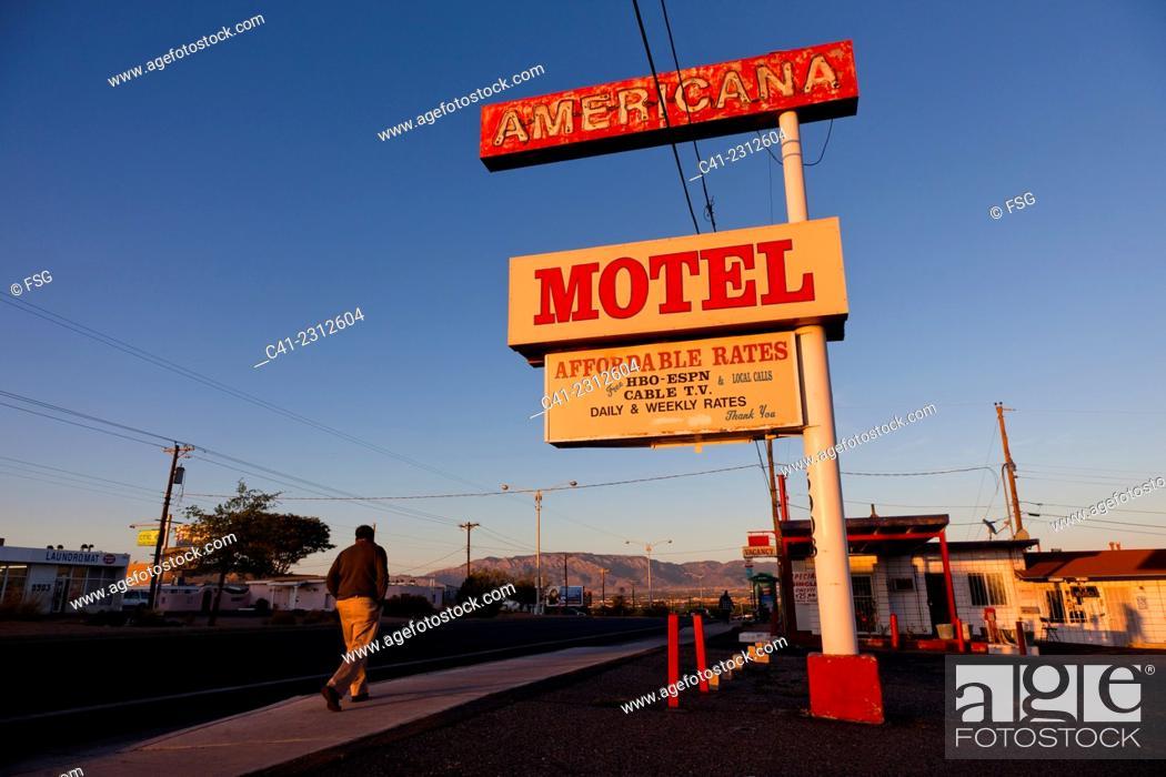 Stock Photo: Albuquerque, New Mexicxo. USA.