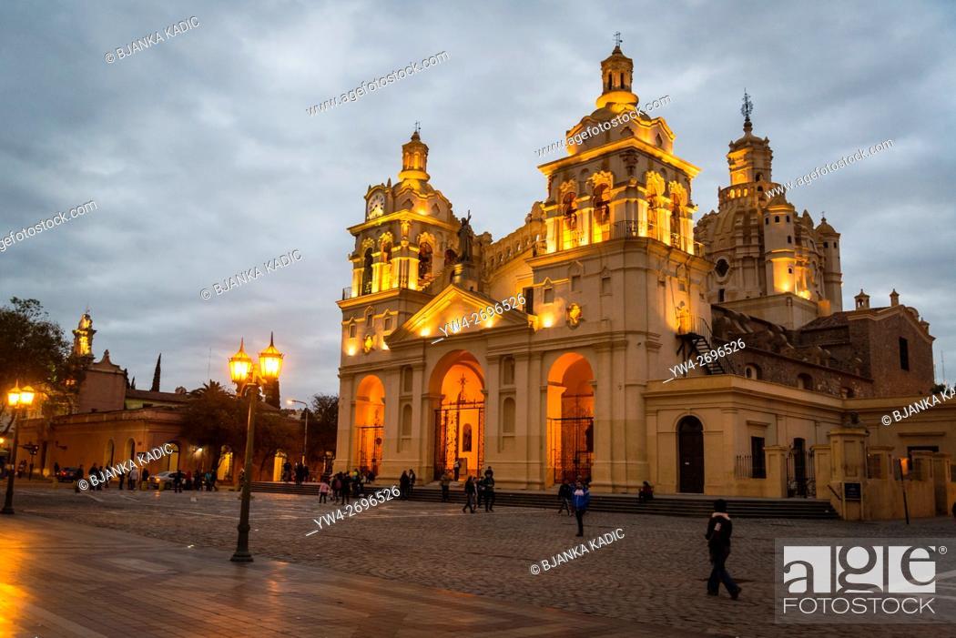 Stock Photo: Cathedral, Iglesia Catedral de Córdoba, Cordoba, Argentina.