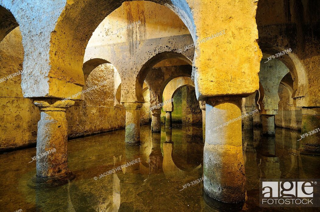 Stock Photo: Arabic cistern. Old town of Caceres. Extremadura Spain.
