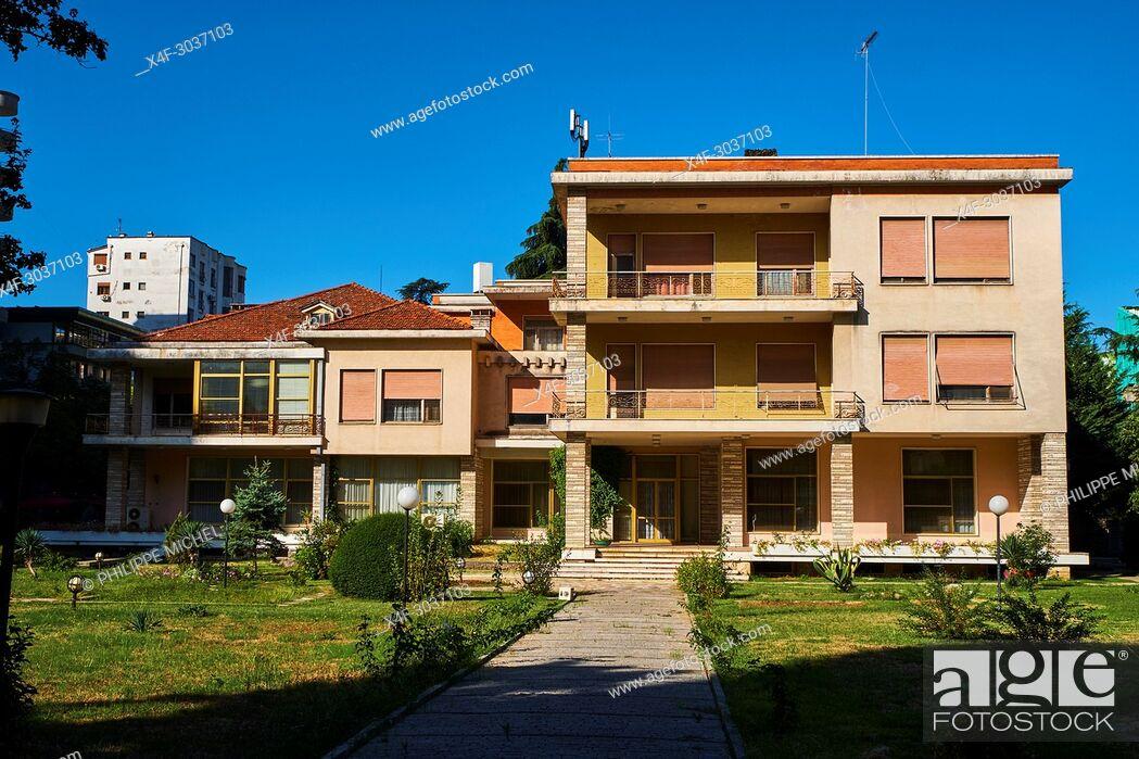 Imagen: Albania, Tirana, Enver Hoxha's former residence.
