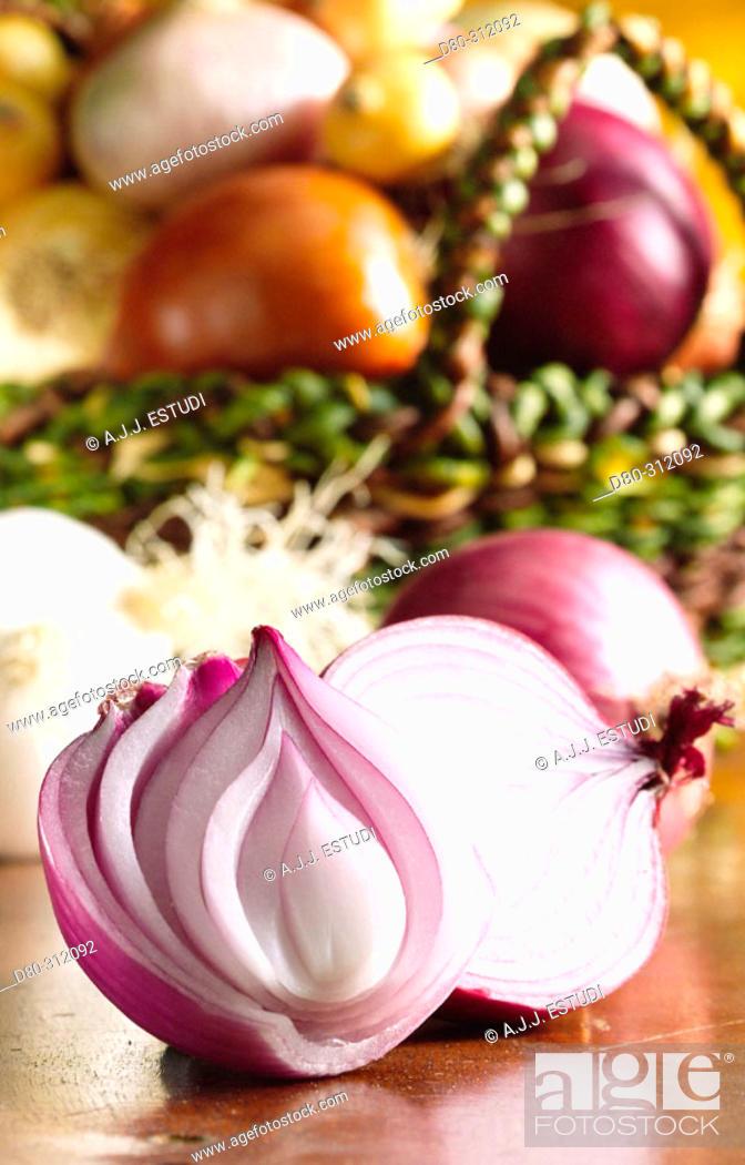 Stock Photo: Onion.