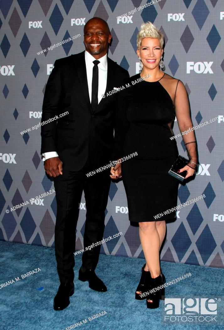 Photo de stock: FOX Winter TCA 2016 All-Star Party held at the Langham Huntington Hotel - Arrivals Featuring: Terry Crews, Rebecca King-Crews Where: Los Angeles, California.