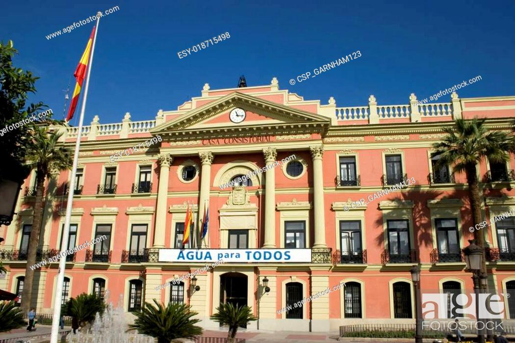 Stock Photo: Murcia Building.