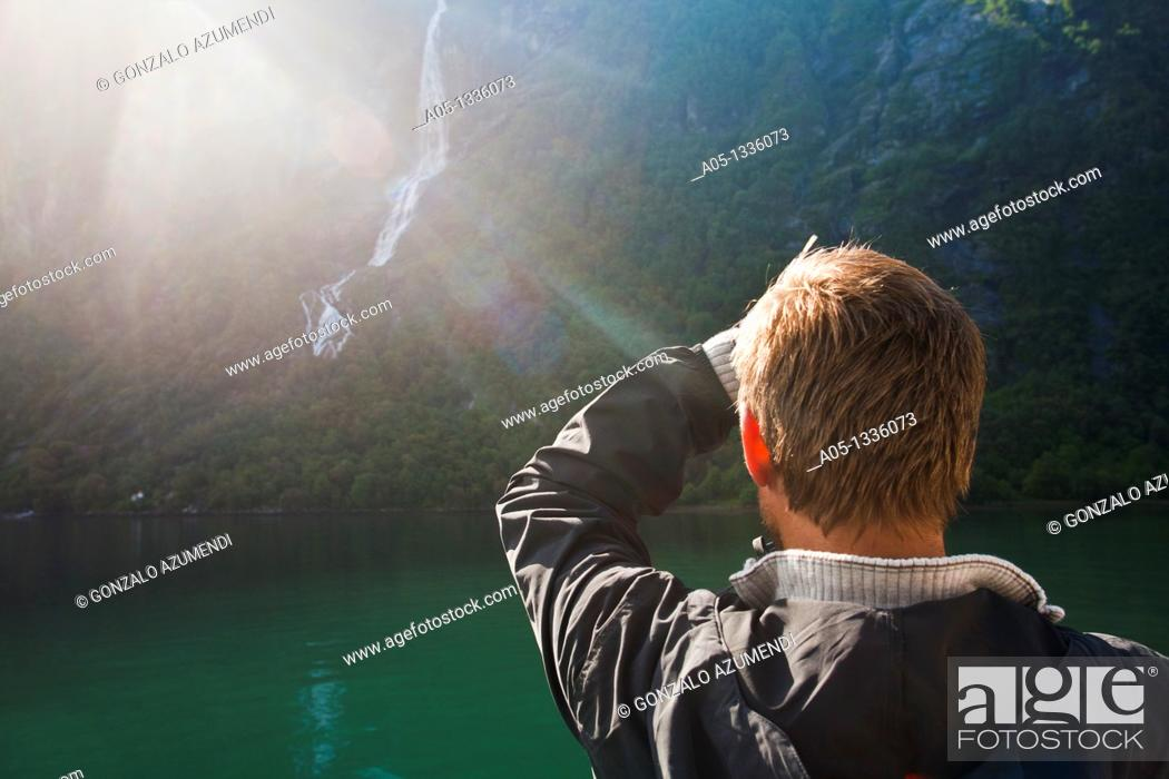 Stock Photo: Geiranger Fjord More & Romsdall, Norway.