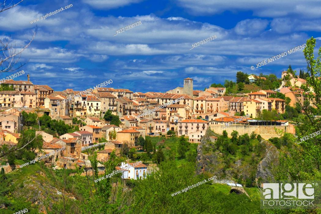 Stock Photo: Sepulveda. Segovia province, Castilla-Leon, Spain.